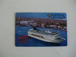 Festival Cruceros Mistral Crucero Inaugural Pocket Calendar 1999 - Formato Piccolo : 1991-00