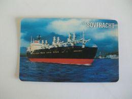 Sovfracht Pocket Calendar 1985 - Small : 1981-90