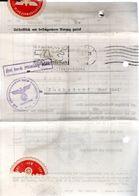 LETTRE 1938 - POSTEE A KIEL - PRESENTATION DU DOCUMENT EN ENTIER - - Germany