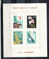 TURQUIE 1952 ** ROUILLE-RUST - Francobolli Di Beneficenza