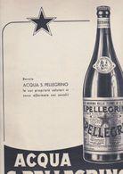 (pagine-pages)PUBBLICITA' ACQUA S.PELLEGRINO  Tempo1957. - Libros, Revistas, Cómics