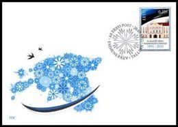 2385 - Estonia - 2011 - 20 Years Of Estonia Independence - FDC - Lemberg-Zp - Estonie