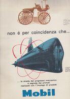 (pagine-pages)PUBBLICITA' MOBIL  Tempo1957. - Libros, Revistas, Cómics