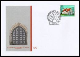 2389 - Estonia - 2011 - Estonian Church Of Karuse - FDC - Lemberg-Zp - Estonie