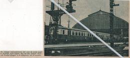 KORTRIJK..1936.. DE NIEUWE SNEL - MOTORTREIN  / KORTRIJK - BRUSSEL IN 45 MINUTEN - Vecchi Documenti