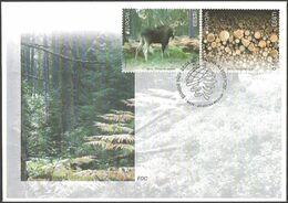 2391 - Estonia - 2011 - Europa Forests - FDC - Lemberg-Zp - Estonie