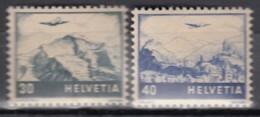 SCHWEIZ  506-507, Postfrisch **, Flugzeug über Landschaften, 1948 - Posta Aerea