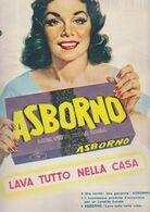 (pagine-pages)PUBBLICITA' ASBORNO  Tempo1957. - Libros, Revistas, Cómics