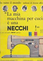 (pagine-pages)PUBBLICITA' NECCHI  Tempo1957. - Libros, Revistas, Cómics