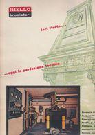(pagine-pages)PUBBLICITA' RIELLO  Tempo1957. - Libros, Revistas, Cómics