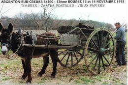 Argenton Sur Creuse 12e Bourse 13 Et 14 Novembre 1993 - Collector Fairs & Bourses