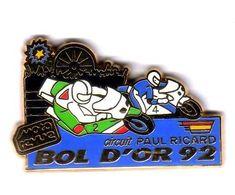Pin's Moto Bol D'or 92 Moto Revue Circuit Paul Ricard  Zamac AMC - Motorräder