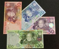 LESOTHO SET 10 20 50 100 MALOTI BANKNOTES 2010 UNC - Lesoto