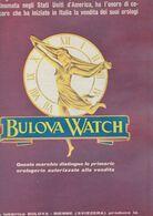 (pagine-pages)PUBBLICITA' BULOVA WATCH  Tempo1957. - Libros, Revistas, Cómics