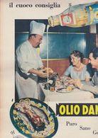 (pagine-pages)PUBBLICITA' OLIO DANTE  Tempo1957. - Libros, Revistas, Cómics