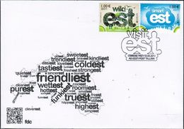2399 - Estonia - 2012 - Europa Visit - FDC - Lemberg-Zp - Estonie