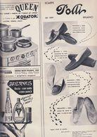 (pagine-pages)PUBBLICITA' POLLI  Tempo1957. - Libros, Revistas, Cómics