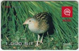 SLOVENIA A-892 Prepaid Mobi - Animal, Bird, Corn Crake - Val. 31/12/2005 - Used - Slovenia