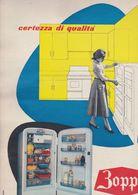 (pagine-pages)PUBBLICITA' ZOPPAS  Tempo1957. - Libros, Revistas, Cómics