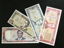 LIBERIA SET 5 10 20 50 DOLLARS BANKNOTES 2009 UNC - Liberia