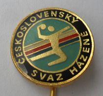 Československý Svaz Házené HANDBALL   PINS BADGES P4/5 - Pallamano
