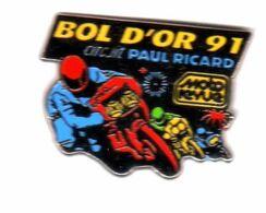 Pin's Moto Bol D'Or 1991 Moto Rcircuit Paul Ricard Zamac AMC - Motorräder