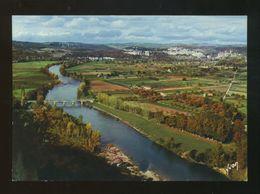 Domme (24) : La Vallée De La Dordogne Vue De La Barre - Francia