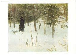 WINTER, 1894 By ILYA REPIN, Russian Painter. Unused Postcard - USSR, 1982 - Malerei & Gemälde