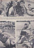 (pagine-pages)STIRLING MOSS E LIBERO LIBERATI  Tempo1957. - Libros, Revistas, Cómics