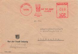 DDR Brief AFS 1949 Rat Der Stadt Leipzig - Storia Postale