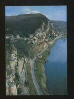 La Roque Gageac (24) : Le Chateau De La Malartrie Au Premier Plan - Francia