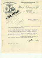13 - Bouches Du Rhone - Salon  - Facture Henri Schweizer Fils -Huilerie - Belle Vignette - 1918 - Réf. 44 . - France