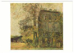 HOUSE IN PARIS, 1909 By ISAAK BRODSKY, Russian Painter. Unused Postcard - USSR, 1982 - Malerei & Gemälde