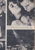 (pagine-pages)LIZ TAYLOR E MIKE TODD  Tempo1957. - Libros, Revistas, Cómics