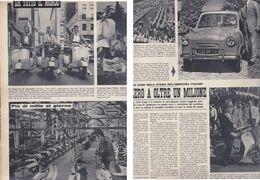 (pagine-pages)I VESPA CLUB  Tempo1957. - Libros, Revistas, Cómics