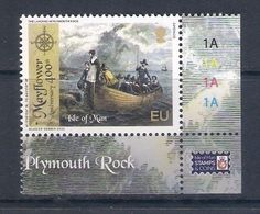 Isle Of Man [EUROPA 2020] Ancient Postal Routes - Single Stamp With Labels (MNH) As Scan - Europa-CEPT
