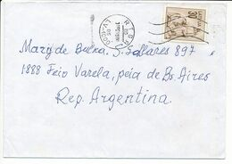 Mi 329 Solo Cover Abroad / Re-valued Nominal - 31 May 1998 Riga - Letonia