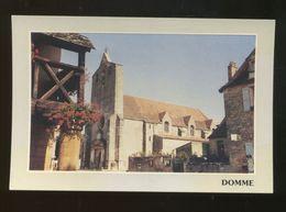 Domme (24) : L'église - Francia
