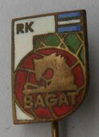 """RK BAGAT HANDBALL CLUB """"BAGAT"""" ZADAR CROATIA  PINS BADGES P4/5 - Pallamano"""