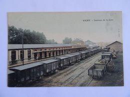 CPA  03  VICHY Intérieur De La Gare  TBE - Vichy