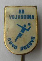 HANDBALL CLUB RK VOJVODINA NOVA PAZOVA  PINS BADGES P4/5 - Pallamano