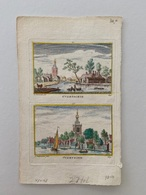 Gezicht Op Overschie, Rotterdam 1725 - Alte Papiere