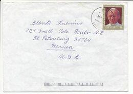 Mi 360 Solo Cover Abroad / Visit Of Pope John Paul II - 6 December 1993 Ādaži - Letonia