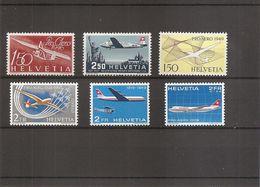 Suisse ( Lot De 6 Timbres De PA XXX -MNH) - Posta Aerea