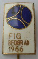 FIG Belgrade 1966. - International Federation Of Surveyors, Surveyor, Yugoslavia  PINS BADGES P4/5 - Verenigingen