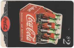 USA C-716 Prepaid Sprint - Historic Advertising, Drink, Coca Cola - Used - Vereinigte Staaten