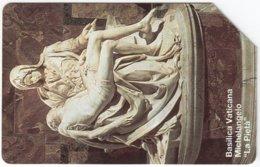 VATICAN A-113 Magnetic Telecom - Religion, Holy Statue - Used - Vaticano