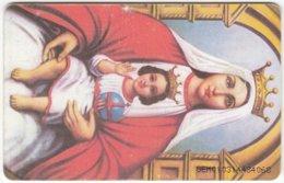 VENEZUELA B-740 Chip CanTV - Religion, Holy Picture - Used - Venezuela