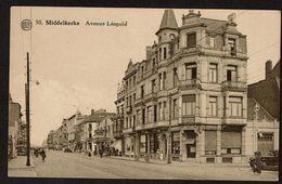 Middelkerke - L'Avenue Léopold - Garage Chrysler - Appartements Français ...- Edit. A. Dohmen - 2 Scans - Middelkerke