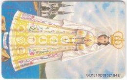 VENEZUELA B-741 Chip CanTV - Religion, Holy Picture - Used - Venezuela